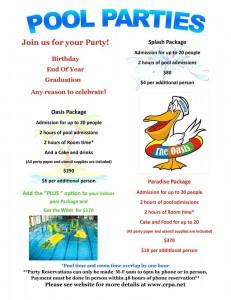 Oasis Pool Parties