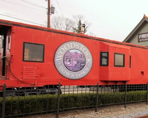 Woodstock downtown train car - flickr