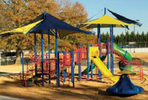 New Playground in Woodstock