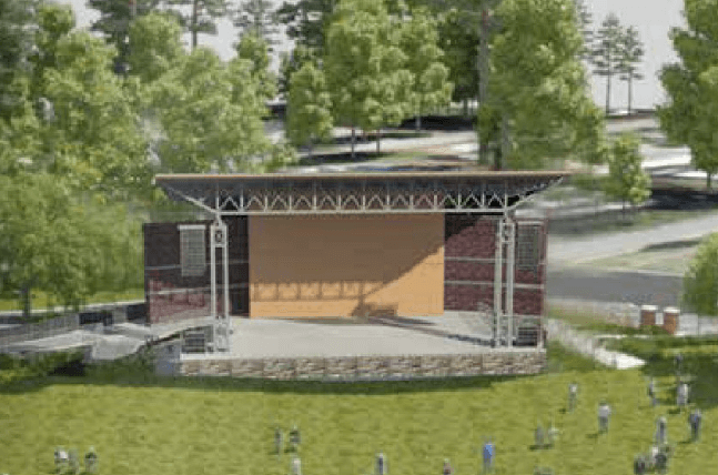Downtown Woodstock Amphitheater