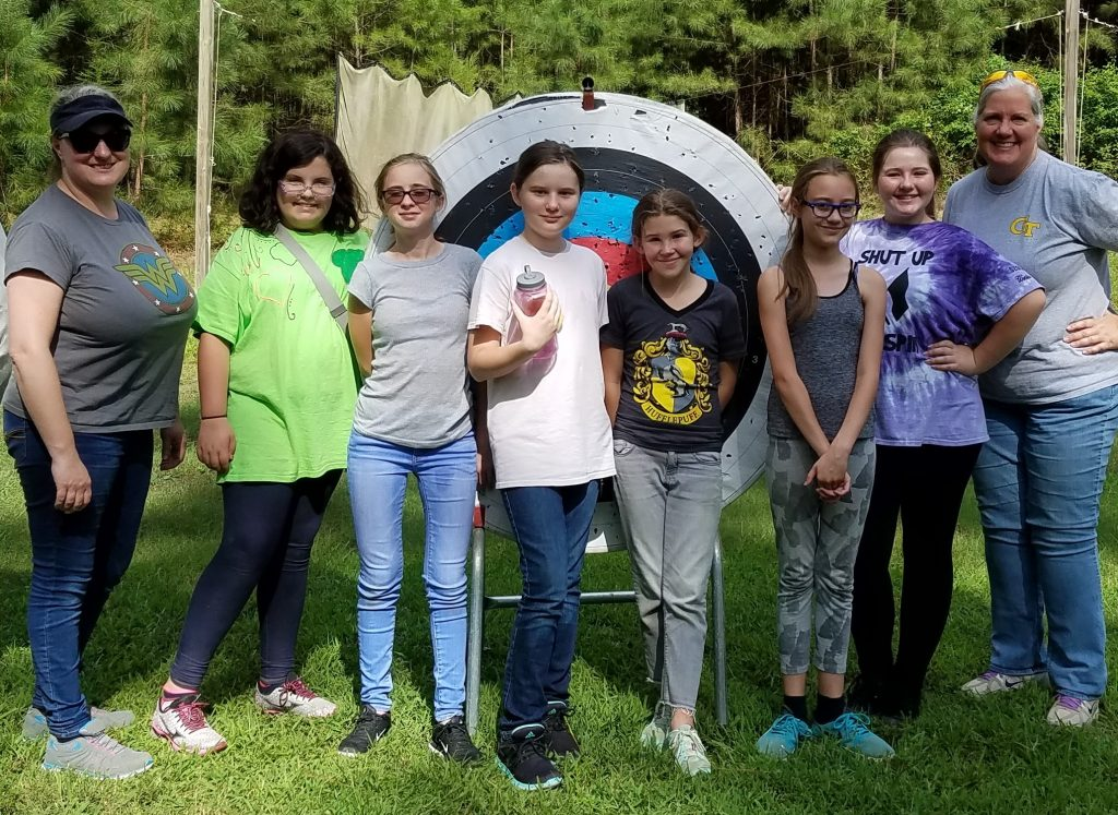 Around Woodstock Girls Scouts