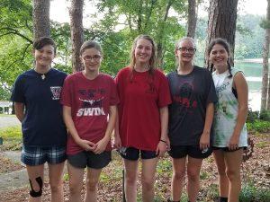 Gold Award cherokee girl scouts around woodstock
