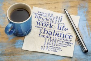 work life balance around woodstock