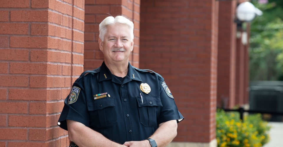 Woodstock Police Chief Calvin Moss