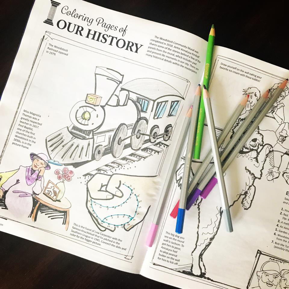 Coloring Pages of Our History